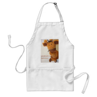 Naughty giraffe adult apron