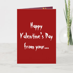 Naughty valentines cards zazzle naughty girl happy valentines day greetings card m4hsunfo
