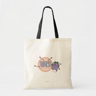 Naughty Girls Need Love Too! Budget Tote Bag
