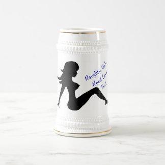 Naughty Girls Need Love Too! Beer Stein