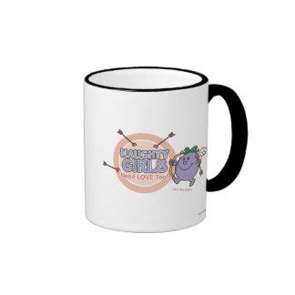 Naughty Girls Need Love Too! Ringer Coffee Mug