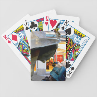 Naughty Gnome Bicycle Playing Cards