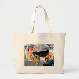 Naughty Gnome Large Tote Bag