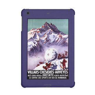 Naughty Gnomes Making Giant Snowball Poster iPad Mini Cover