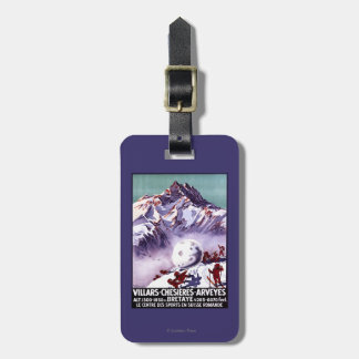 Naughty Gnomes Making Giant Snowball Poster Luggage Tags