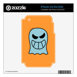 Naughty Halloween Ghost Skins For iPhone 3