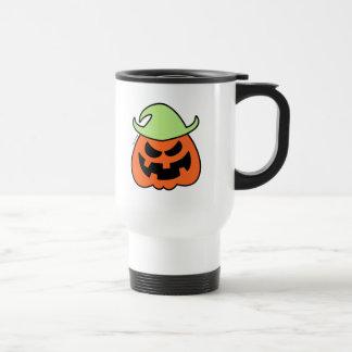 Naughty Halloween Scarecrow Travel Mug