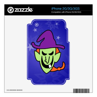 Naughty Halloween Witch Skins For iPhone 3GS