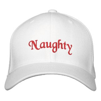 Naughty Hat embroideredhat