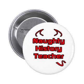 Naughty History Teacher Button