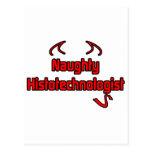 Naughty Histotechnologist Postcard
