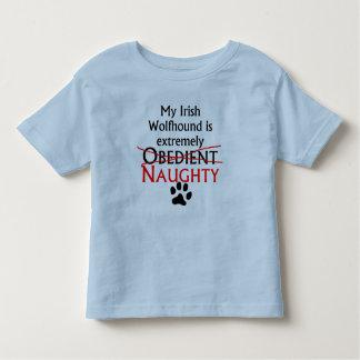 Naughty Irish Wolfhound Tee Shirt