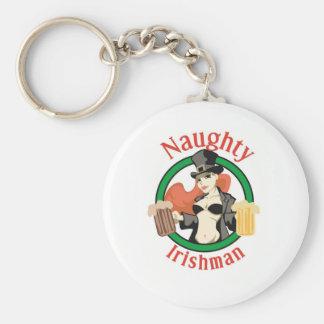 Naughty Irishman Key Chain