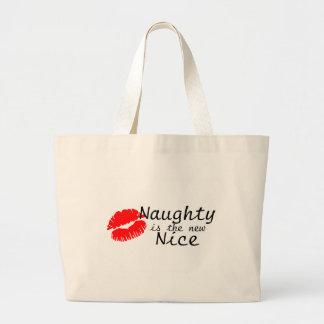 Naughty Is The New Nice Jumbo Tote Bag