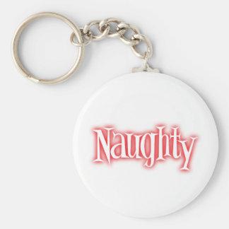 naughty keychain