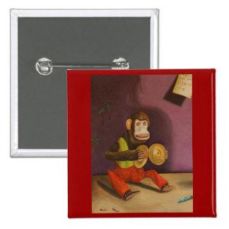 naughty kid detail(Monkey) Pinback Button