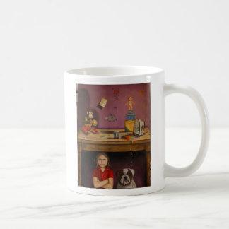 """Naughty Kid, """"Naughty Child"""", By Leah Saulnier ... Coffee Mug"""
