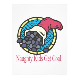 Naughty Kids Get Coal Custom Flyer