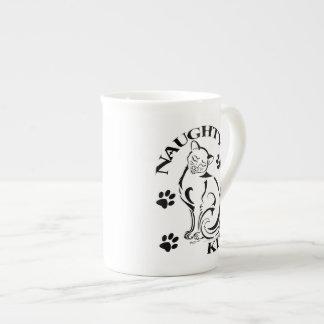 Naughty Kitty Bone China Mug