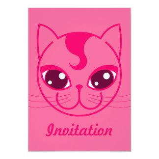 Naughty Kitty Invitation