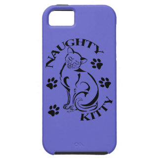 Naughty Kitty iPhone 5 Casemate Case