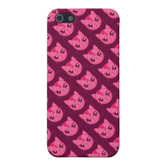 Naughty Kitty Speck Case iPhone 5 Cases
