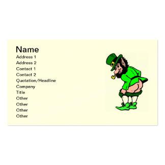 Naughty Leprechaun Business Card