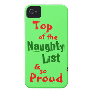 Naughty List iphone 4 Barely There Case iPhone 4 Cover