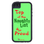Naughty List iphone 5/5S Tough Xtreme Case Cover For iPhone 5