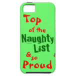 Naughty List iphone 5/5S Vibe Case iPhone 5 Cases