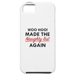 Naughty List iPhone SE/5/5s Case