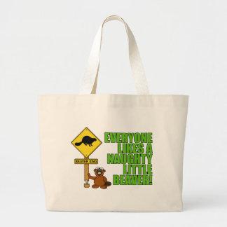 Naughty Little Beaver Bag