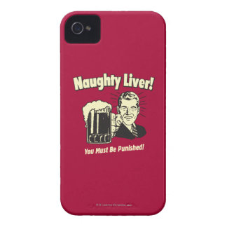 Naughty Liver: You Must Be Punished iPhone 4 Case