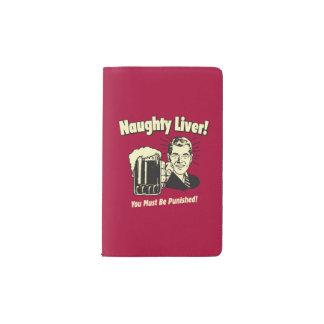 Naughty Liver: You Must Be Punished Pocket Moleskine Notebook