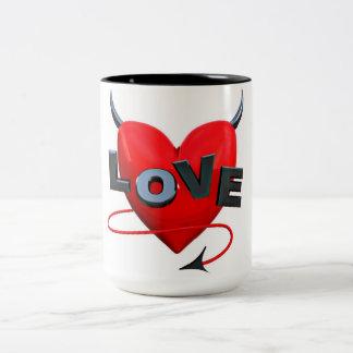 naughty Love Two-Tone Coffee Mug