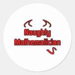 Naughty Mathematician Sticker