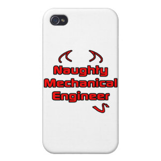 Naughty Mechanical Engineer Cases For iPhone 4