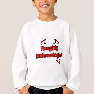 Naughty Meteorologist Sweatshirt