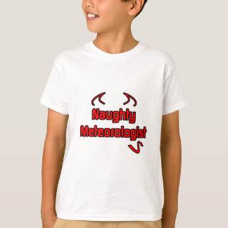 Naughty Meteorologist T-Shirt
