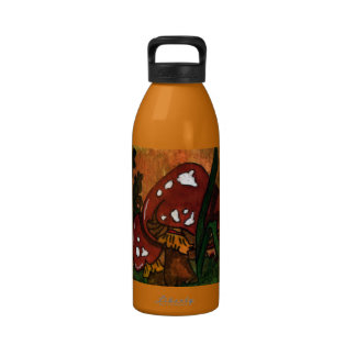 naughty mushrooms Water Bottle