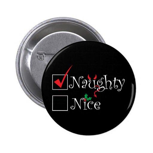 Naughty Nice Button