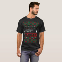 Naughty Nice Chicken Christmas Ugly Sweater