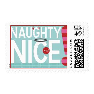 Naughty & Nice Stamp