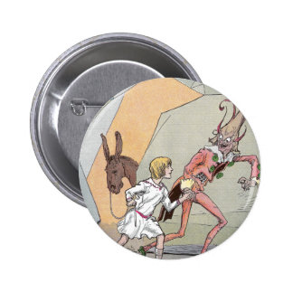 Naughty Nome in the Caverns Pinback Button