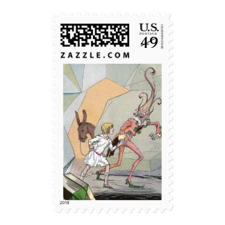 Naughty Nome in the Caverns Postage Stamps