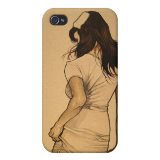 Naughty Nurse iPhone 4 Cover