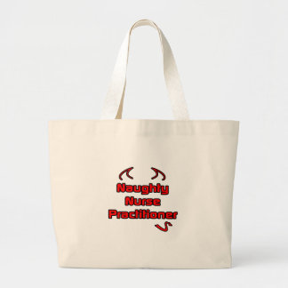 Naughty Nurse Practitioner Jumbo Tote Bag