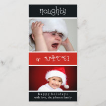 Naughty of Nice? Holiday Card