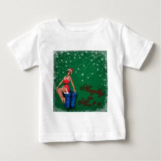 naughty or nice1 baby T-Shirt
