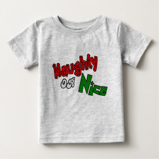 Naughty Or Nice? Baby Clothes Baby T-Shirt